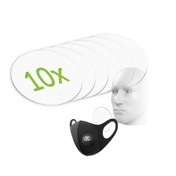 Bacterial Filter Inserts x 10